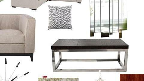 Living Room Moodboard - by KaitlynWentworth