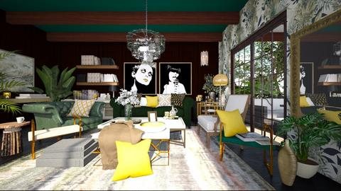 The Great Living Room - Vintage - Living room  - by dusica_k