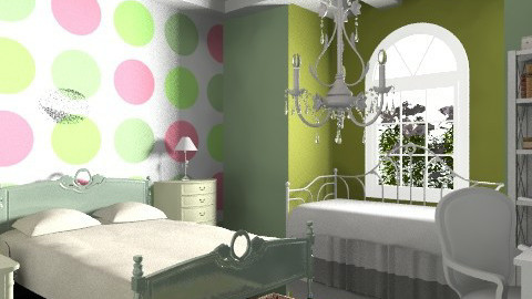 PolkaDot teenRoom - Modern - Bedroom - by FN27622