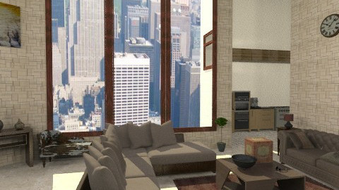 Chocolate - Classic - Living room  - by bluevioletspoprock