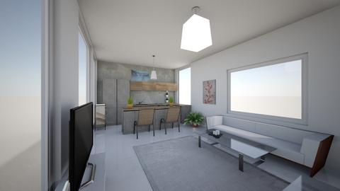 Kitchen and Living Room - Modern - Living room  - by 2027richardsonk