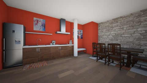 Modern Kitchen 2 - Kitchen - by Izzysmith