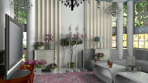 stylish living room  - Classic - Living room  - by Hayat Ahmed