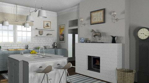 French Country Kitchen - Classic - Kitchen  - by LizyD