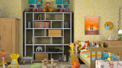 Zoo nursery - Kids room  - by lolikawaii