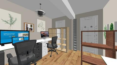 Study new - Office  - by spikefriday13