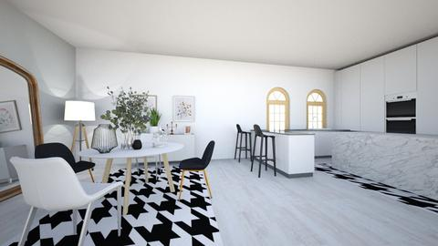 houndstooth - Dining room  - by 7087755443