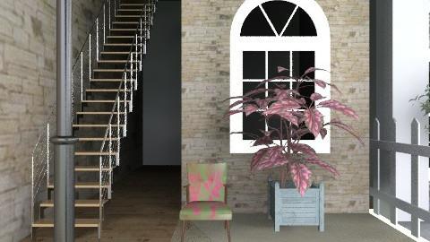 Row Houses - Classic - Garden  - by hattiebeck