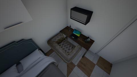 Lea Lim Future Room - Bedroom  - by ala_lim