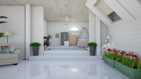Bedroom And Living Room - Modern - Living room  - by wijeshinghe