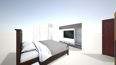 bed room - Modern - Bedroom  - by krukerr