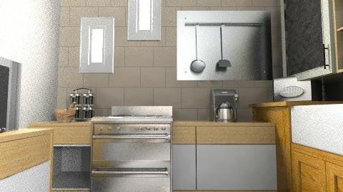 cozinha Maria - Classic - Kitchen  - by kellassuncao