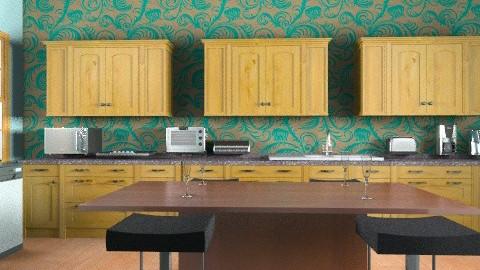 The Kitchen  - Glamour - Kitchen  - by gilliankyle