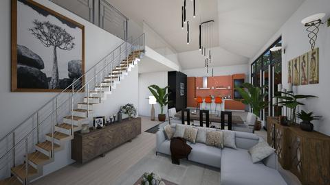 Staircase LA Condo - by JarkaK