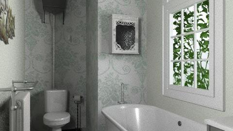 French Antique Bathroom - Rustic - Bathroom  - by rachaelgowdridge