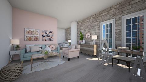 rich bich - Living room - by Gabrielle Binguan