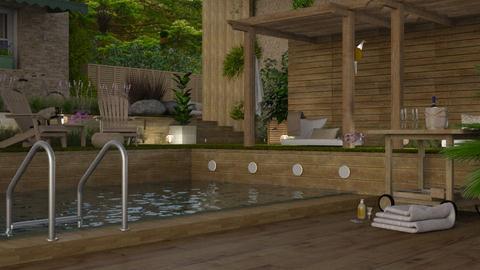 Tropical Patio Contest - Garden  - by niels2010terhaar