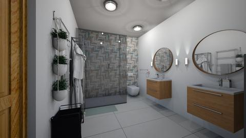 kupelna itv 5 - Bathroom - by Kristina Bacinska