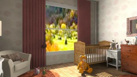 baby room - Vintage - Kids room  - by sunlove