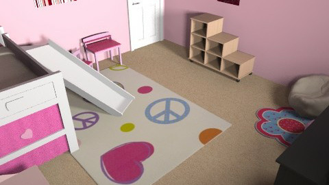 little girl's - Classic - Kids room  - by Ali May