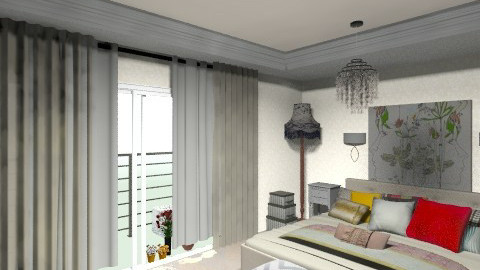 master bedroom test fnal_ - Vintage - Bedroom  - by bellabravis