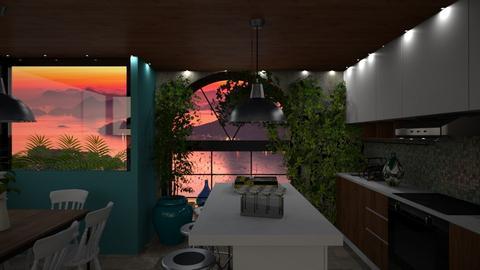 urban jungle kitchen - by lais baptista