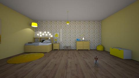 mellow yellow - Modern - Kids room  - by matildabeast