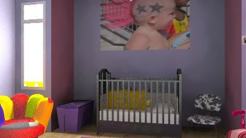 rockin' the nursery - Bedroom  - by xpigeonx