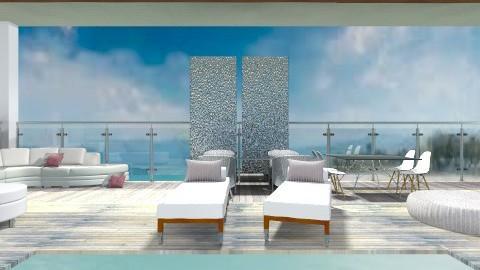 Pool relax - Modern - Garden  - by Tasos Omikron