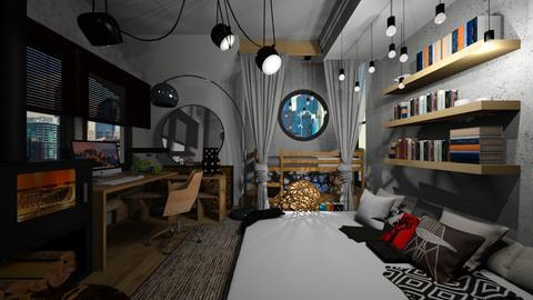 Bedroom - by mjlaflame