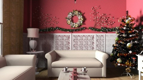 Xmas Living Room - Glamour - Living room  - by steven0