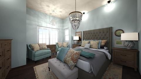 TradHomeBedroom - Classic - Bedroom  - by Cat_J