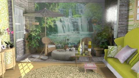 green dream 2 - Country - Living room  - by livia87