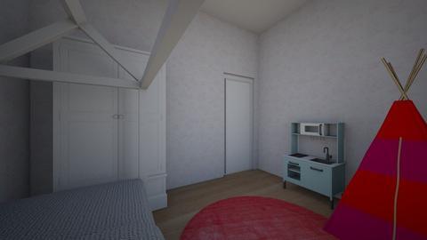 ana - Kids room  - by kasia150491