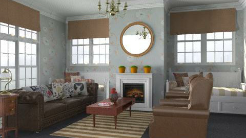 Living Room in the Suburbs - Classic - Living room  - by Carliam