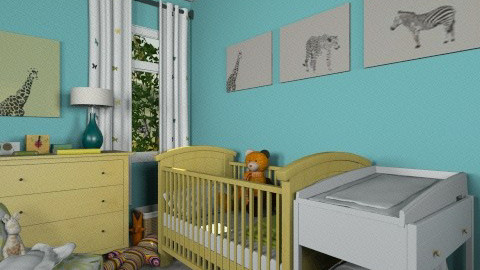 Baby room - Kids room  - by mirkaaa