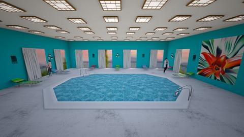 Indoor Pool - by Cool Coder Girl