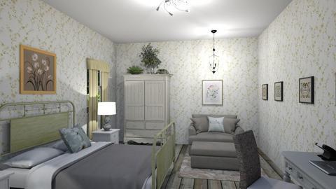 vintage - Vintage - Bedroom  - by steker2344