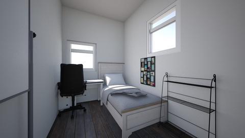 bedroom layout _ sr - Retro - Bedroom  - by alyssaachapman
