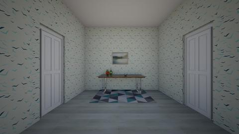 Minimalist Entry Hall - Minimal - by QueenB4