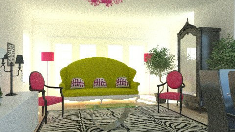 Neo Baroque* - Glamour - Living room - by AgathaP