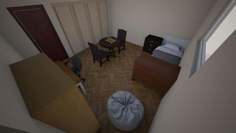 room 2 - Modern - Bedroom  - by zidanejr