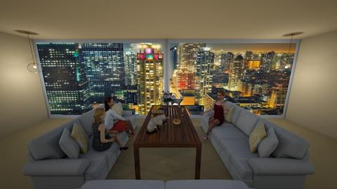 Meeting - Living room - by Ninorucska
