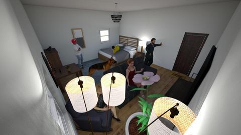 My room - Masculine - Bedroom  - by OwenBibster