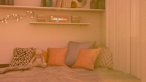Student dorm bedroom - Modern - Bedroom  - by matildabeast