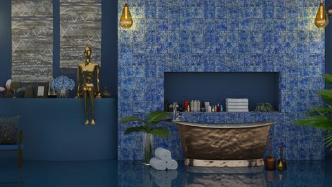 Art Deco Bathroom - Bathroom  - by KittyKat28