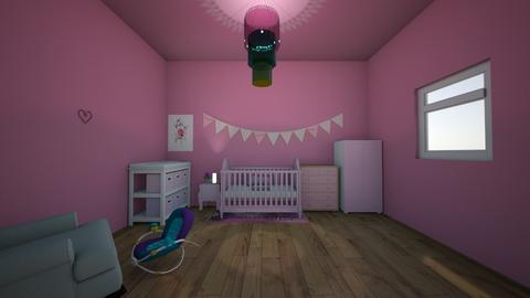 BABY GIRL NURSERY - Kids room - by IlI805