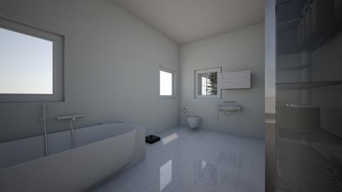 bathroom - by Crocsrule2