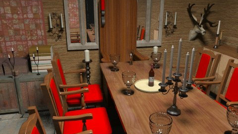 Welcome to Camelot! - Classic - Dining room  - by vadmacsek95