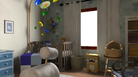 le baby - Rustic - Bedroom  - by alepa